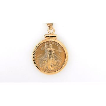 1/10oz American Eagle Coin Pendant