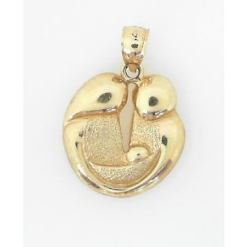 14k Yellow Gold Mother/Father/Baby Charm