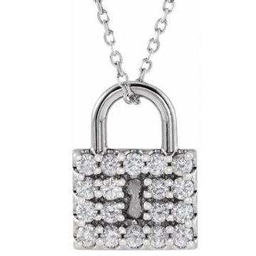 1/2 Carat Diamond Locket Pendant