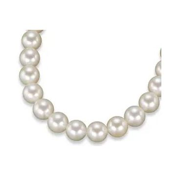 'AAA' Round Akoya Cultured Pearl Necklace 16 inches