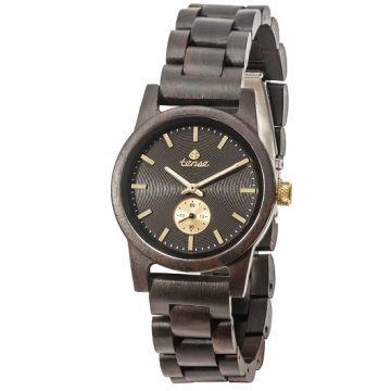 Gents Hampton Custom Dark Sandal Wood Tense Watch