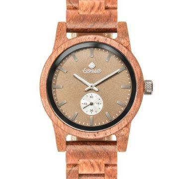"""Tense Hampton """"Katalox"""" Wooden Watch"""