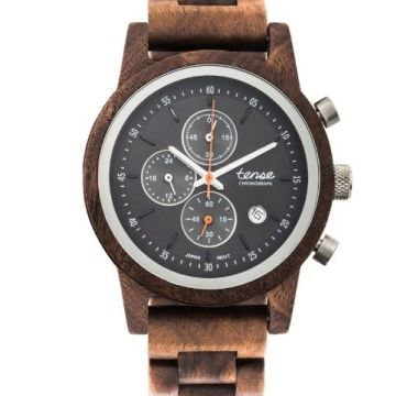 Cambridge Chrono Walnut Silver B