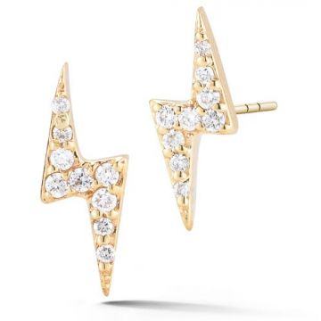 Barbela Diamond Bolt Earrings