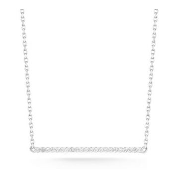 Barbela Diamond Bar Necklace