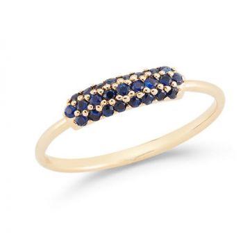Barbela Sapphire Cole Ring