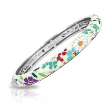 Belle Etoile Flower Garden Bangle Medium