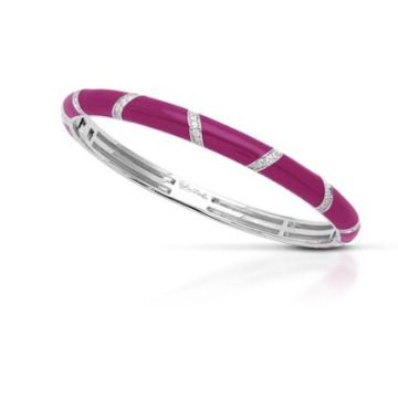 Belle Etoile Glissando Bangle Sangria-Medium