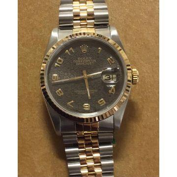 Rolex 1990 Datejust 16233 Stainless/18K