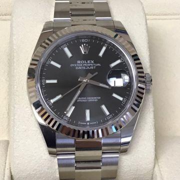 Rolex 2021 Unworn Datejust 126334 18k Bezel, 41MM