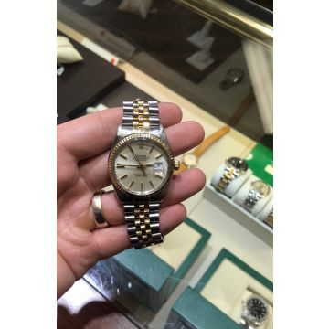 Rolex Datejust Stainless/18k 16013