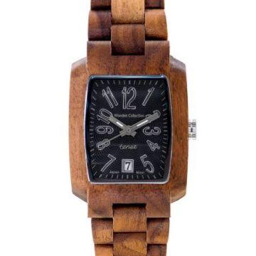 Timber Walnut/Black Tense Watch