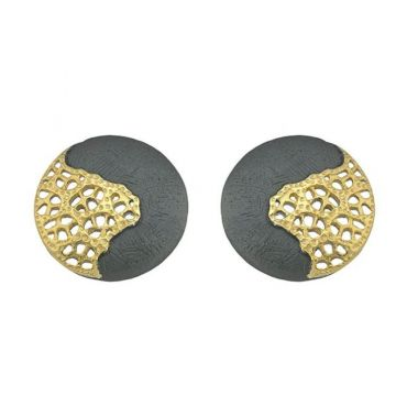 Jorge Revilla 925 Sterling Stud Earrings