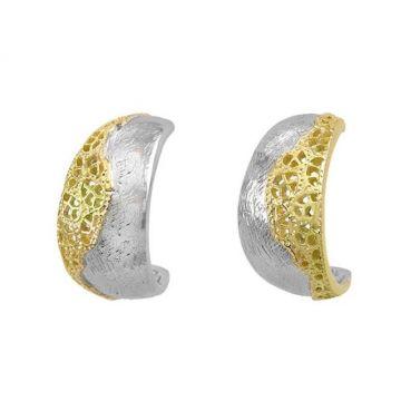 Jorge Revilla 925 Sterling Fashion Earrings