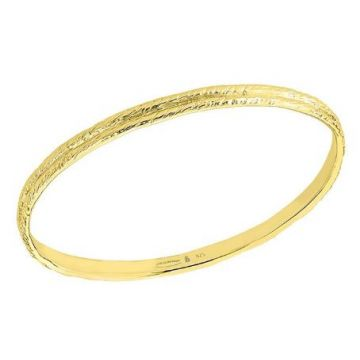 Jorge Revilla 925 Bangle Rope Finish