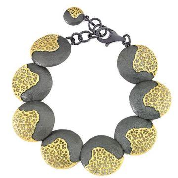 Jorge Revilla 925/18k Yellow Treasure Bracelet