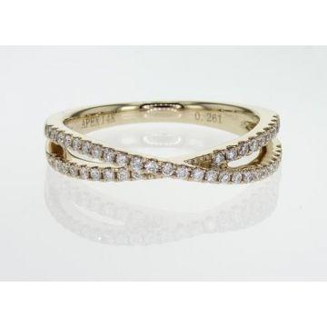 14k Yellow Gold Diamond Ring (.28ctw)