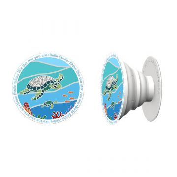 Sea Turtle Mobile Phone Grip and Stand