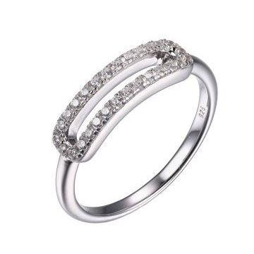 Charles Garnier Sterling Silver Fashion Ring
