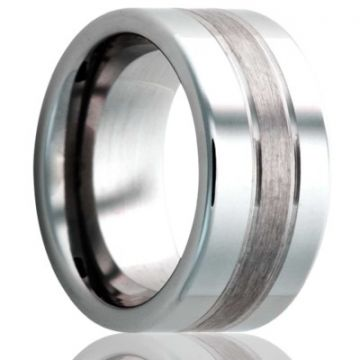Gents Tungsten Wedding Band