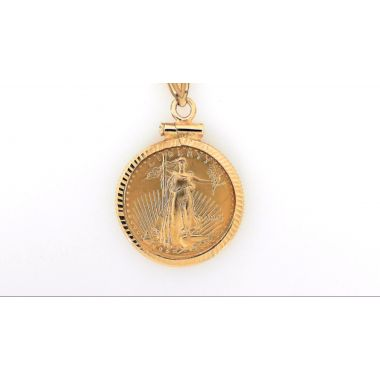 1/10oz American Eagle Coin Pendant