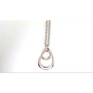 Jorge Revilla Free-Form Sterling Silver Pendant