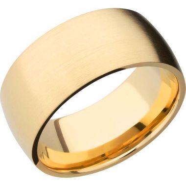 Lashbrook 14k Yellow Gold 10mm Men's Wedding Band