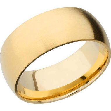 Lashbrook 14k Yellow Gold 9mm Men's Wedding Band