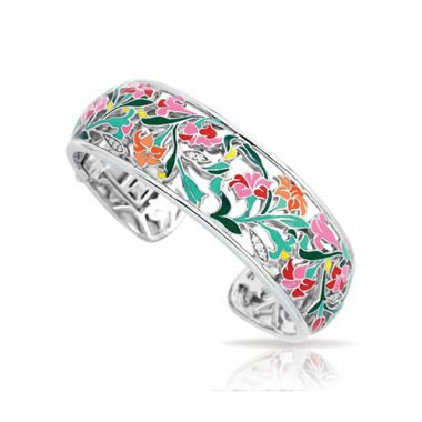Belle Etoile Morning Glory Pink Bangle