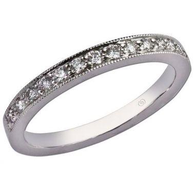 14k Bead Set Diamond Ring (0.22ctw)