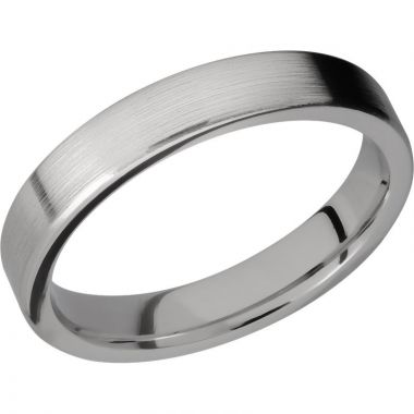 Lashbrook Titanium 4mm Men's Wedding Band