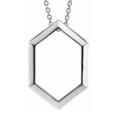 """Sterling Silver 16-18"""" Fashion Necklace"""