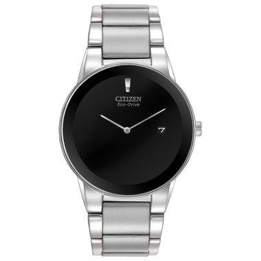 Citizen Eco-Drive Axiom Stainless Steel Silver-Tone 40mm Men's Watch