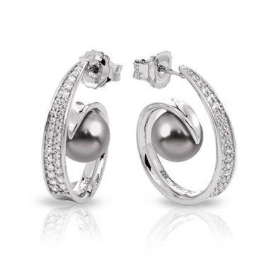 Belle Etoile Alanna Grey Earrings