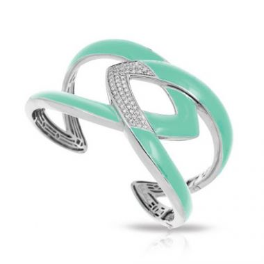 Belle Etoile Amazon Aquamarine Bangle