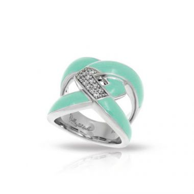 Belle Etoile Amazon Aquamarine Ring
