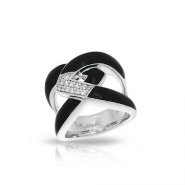 Belle Etoile Amazon Black Ring