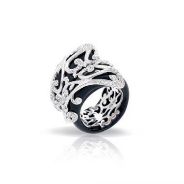Belle Etoile Anastacia Black Ring