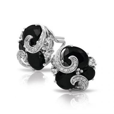 Belle Etoile Andromeda Black & White Earrings