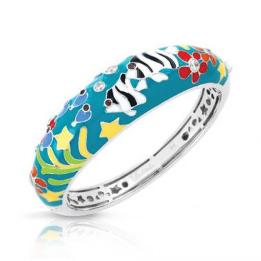Belle Etoile Angelfish Teal Bangle