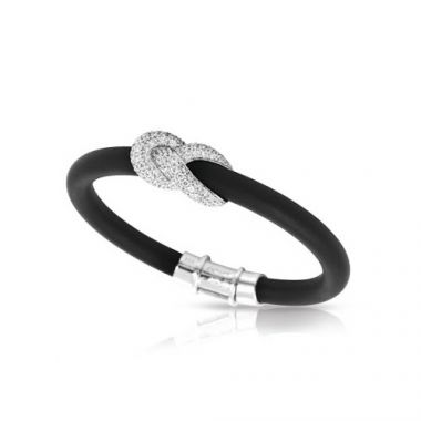 Belle Etoile Ariadne Black Bangle