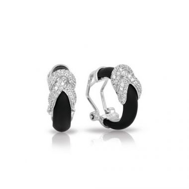 Belle Etoile Ariadne Black Earrings