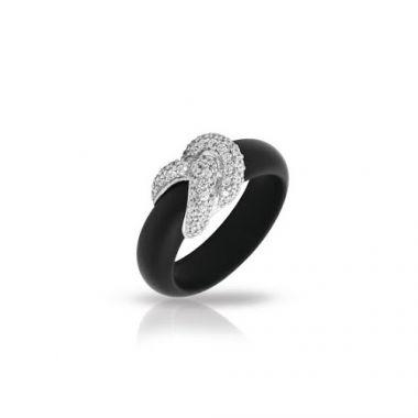 Belle Etoile Ariadne Black Ring