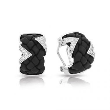 Belle Etoile Arpeggio Black Earrings