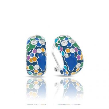 Belle Etoile Artiste Blue Earrings