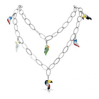Belle Etoile Aviary Multi Necklace