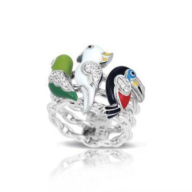 Belle Etoile Aviary Multi Ring