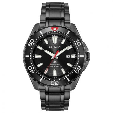 Citizen Eco-Drive Promaster Diver Stainless Steel Black 45mm Men's Watch