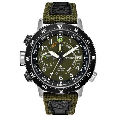 Citizen Eco-Drive Promaster Altichron CORDURA? Men's Watch
