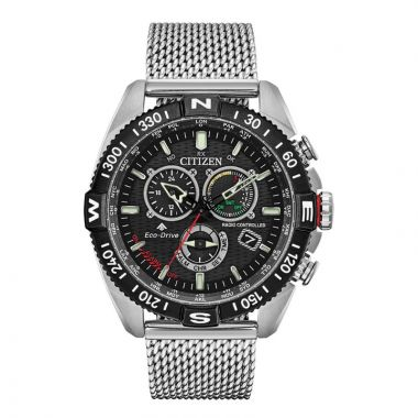 Citizen Eco-Drive Promaster Navihawk Stainless Steel Men's Watch